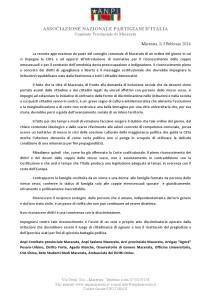 comunicato odg Macerata