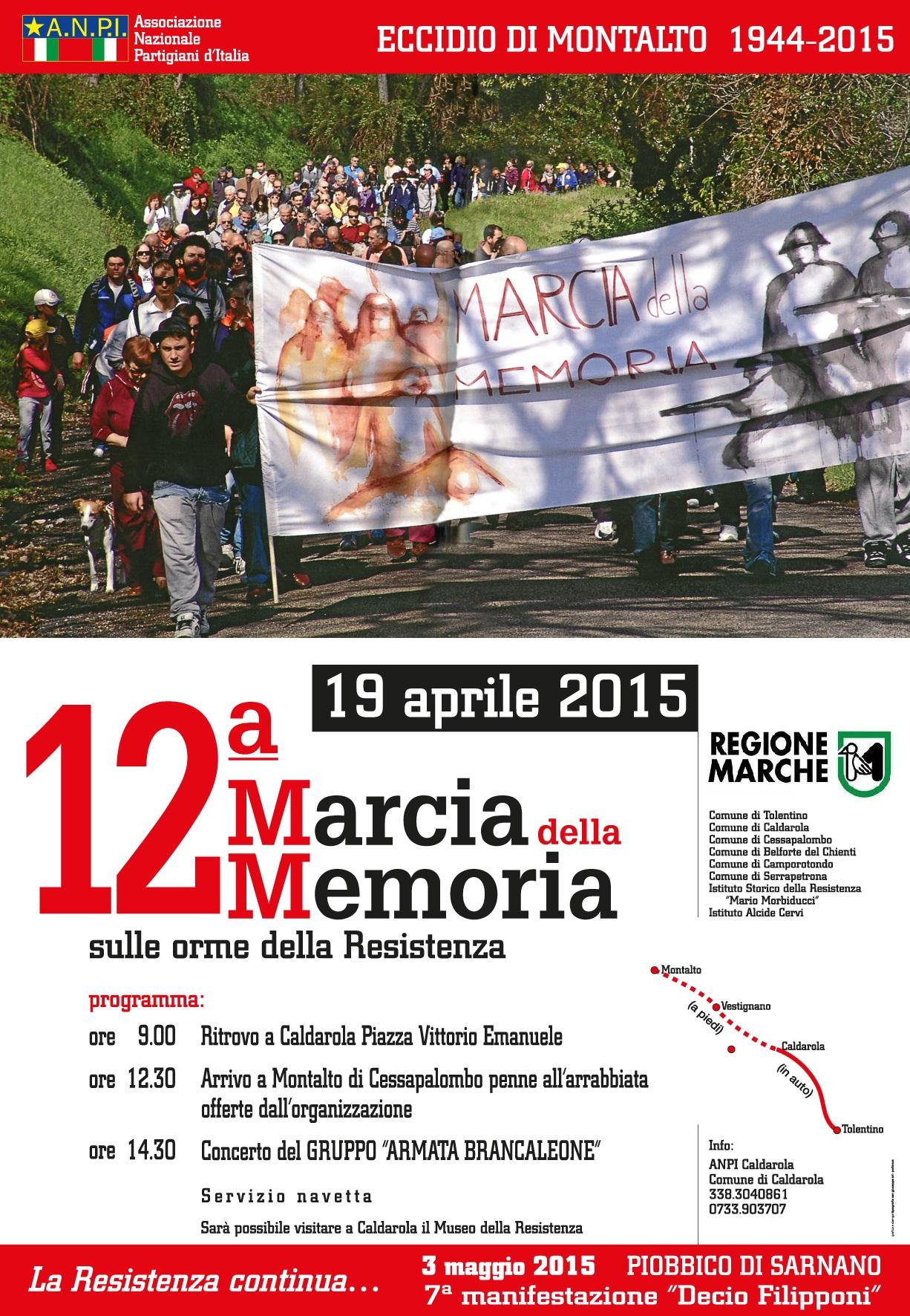 Manifesto 12a marcia