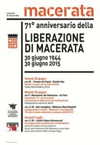 Manifesto Liberazione di Macerata 2015