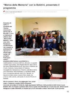cronachemaceratesi.it-Marcia della Memoria con la Boldrini presentato il programma